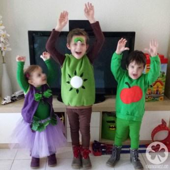 Träubchen, Kiwi und Äpfelchen