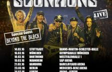 [LIVE REPORT] SCORPIONS – SAP Arena, Mannheim, Allemagne – 19 mars 2016