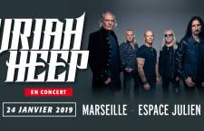 [PREVIEW] URIAH HEEP – 24.01 – Marseille