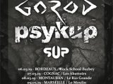 [PREVIEW] GOROD + PSYKUP + SUP – 9.03 – Le Moulin – Marseille (13)