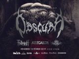 [Preview]Obscura+Fallujah+Allegaeon+First Fragment – 15.02 – CCO Villeurbanne(69) 15/02/2019