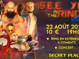 [PREVIEW] SEE YOU IN THE RING #1 : CATCH & CONCERT TERROR SHARK – 22.08 – SECRET PLACE – MONTPELLIER (34)
