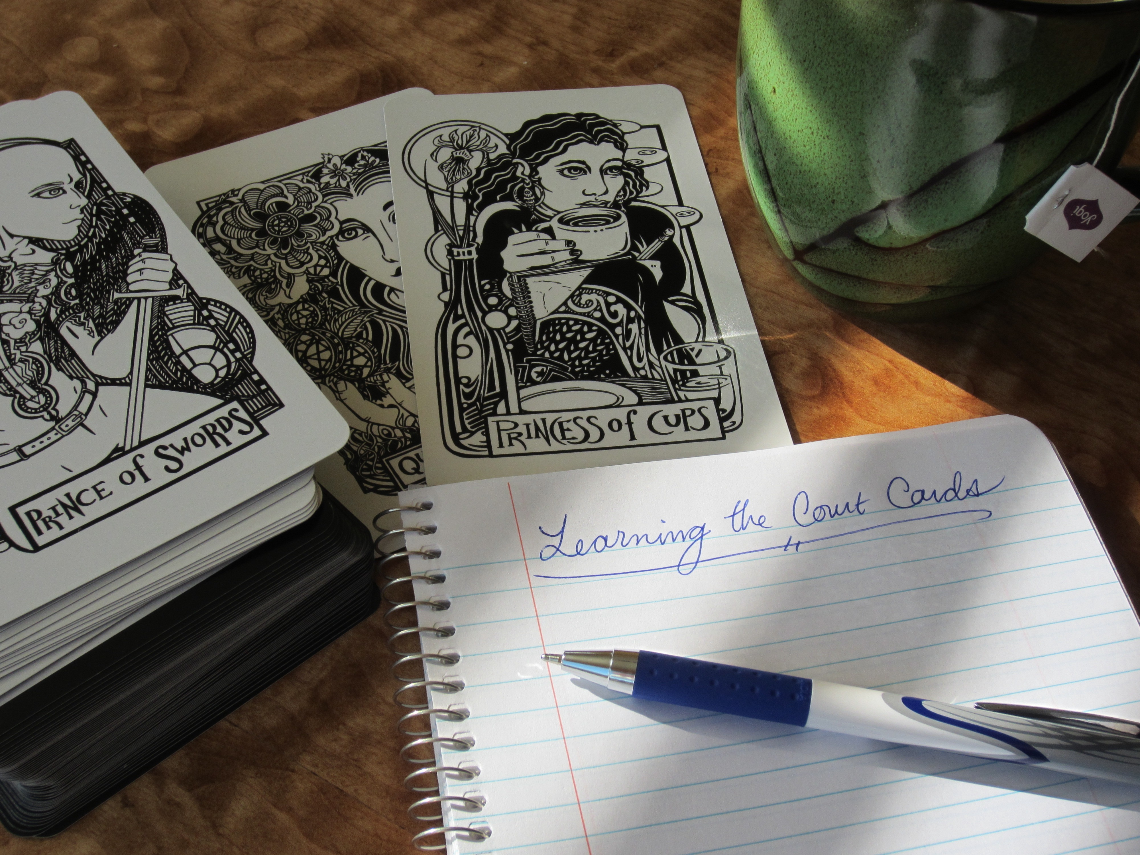 Learn The Tarot Court Cards