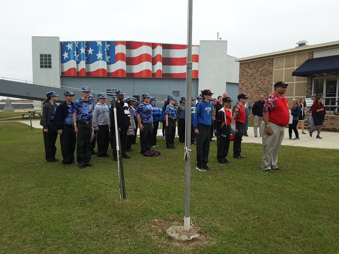Pearl Harbor Day Field Trip Gives Cms Jrotc Cadets A Taste
