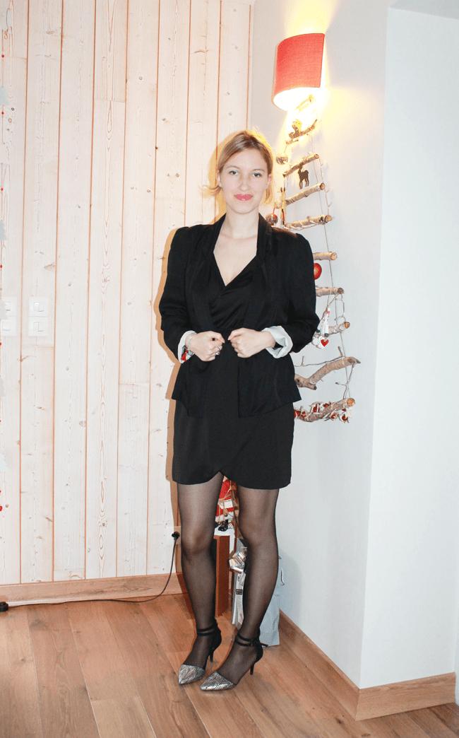 Et Daily Clo About Robe Couture Noire Collant 4ARc35Lqj