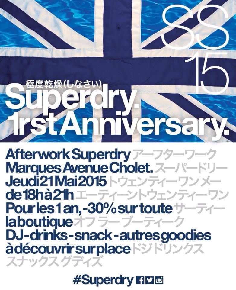 Afterwork-Superdry- Cholet