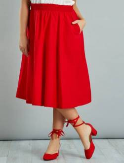 jupe-midi-en-popeline-de-coton-rouge-grande-taille-femme-vz094_2_frf1