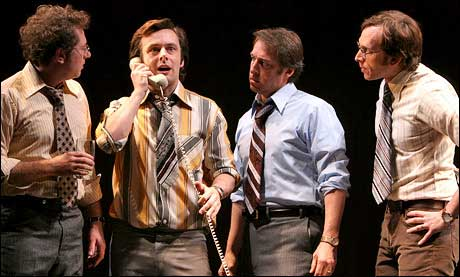 Stephen Kunken as Jim Reston (far right)