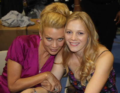 Laurie Holden and Emma Bell