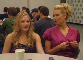 The Walking Dead - Laurie Holden, Emma Bell