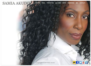 Samia Akudo Website