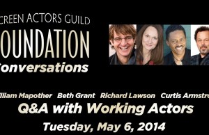 SAG Conversations: Q & A with Working Actors Featuring William Mapother & Curtis Armstrong (video)