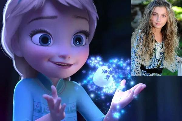 Frozen Actress Voiceover