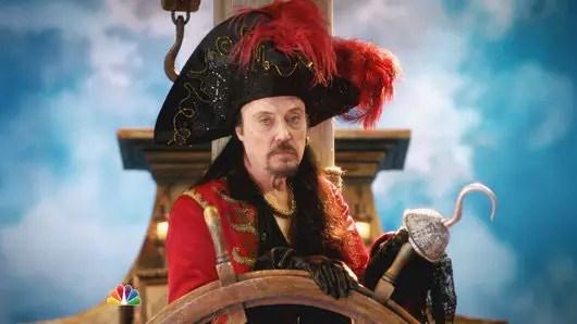 Christopher Walken as Captain Hook in Peter Pan