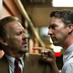 Michael Keaton and Edward Norton in Birdman