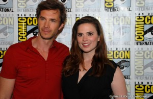 Hayley Atwell & James D'Arcy at Comic Con 2015 (photo Jamie LeDent Photogrpahy)