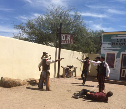 Real Gun at Tombstone Shootout Show