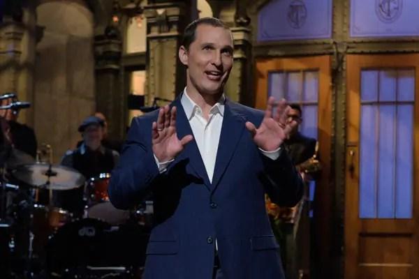 Matthew McConaughey on SNL