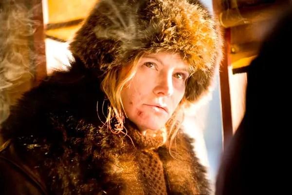 Jennifer Jason Leight in The Hateful Eight