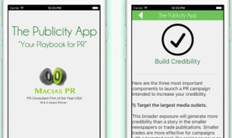 The Publicity App for Actors