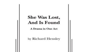 Sue Monologue She Was Lost and Is Now Found Richard Hensley