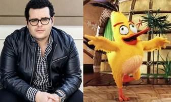 Josh Gad Angry Birds Voice Acting