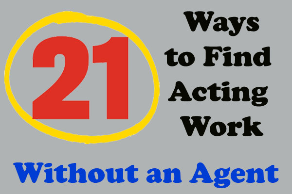 How to find acting work