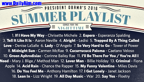 Two Nigerian music stars Named in President Obama's Summer playlist