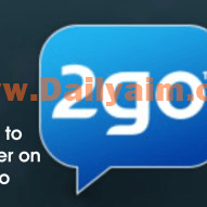 How to download and register new 2go account