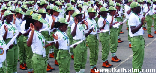2O16 NYSC Batch B Releases Mobilization Timetable