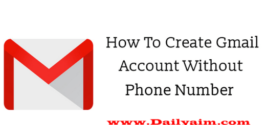 How To Create A Gmail Account Without Phone Number