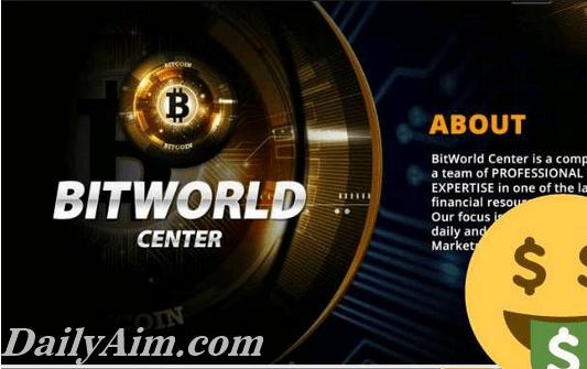 Bit World Center Registration & Login