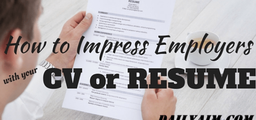 Things Recruiters And Employers Don't Want to See in Your CV