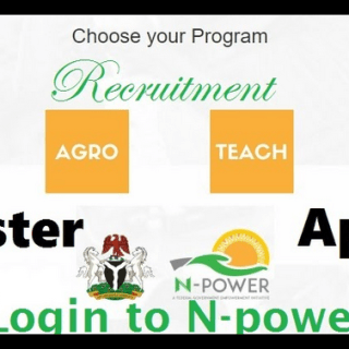 Npower Registration Form Out