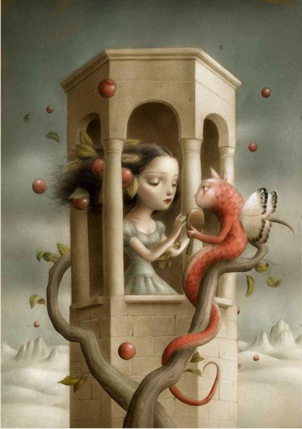 Nicoletta Ceccoli Painting Daily Art Fixx