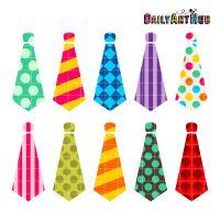 Necktie Clip Art