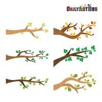 Tree Branch Clip Art Free   www.pixshark.com - Images ...