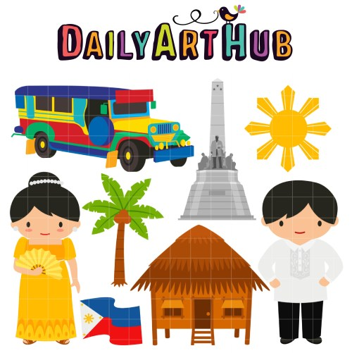 small resolution of more fun in the philippines clip art set