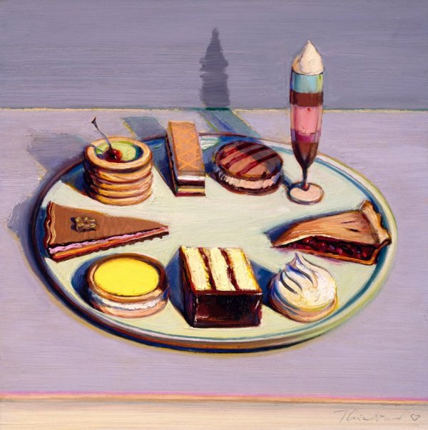 Wayne Thiebaud Sweet Paintings And Sharon Core - Art