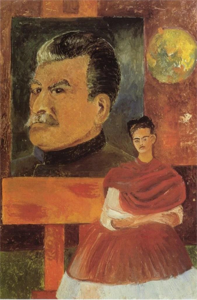 Image result for frida kahlo marxist