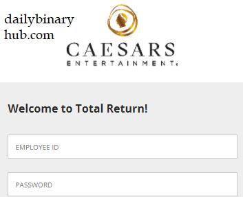 Caesars Total Return Login