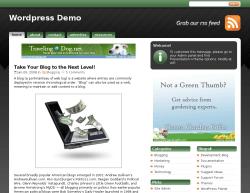 studiopress green theme