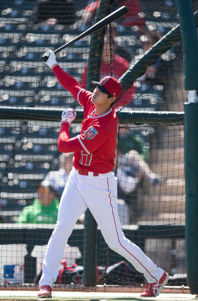 Shohei Ohtani set for spring training debut with Angels on ...