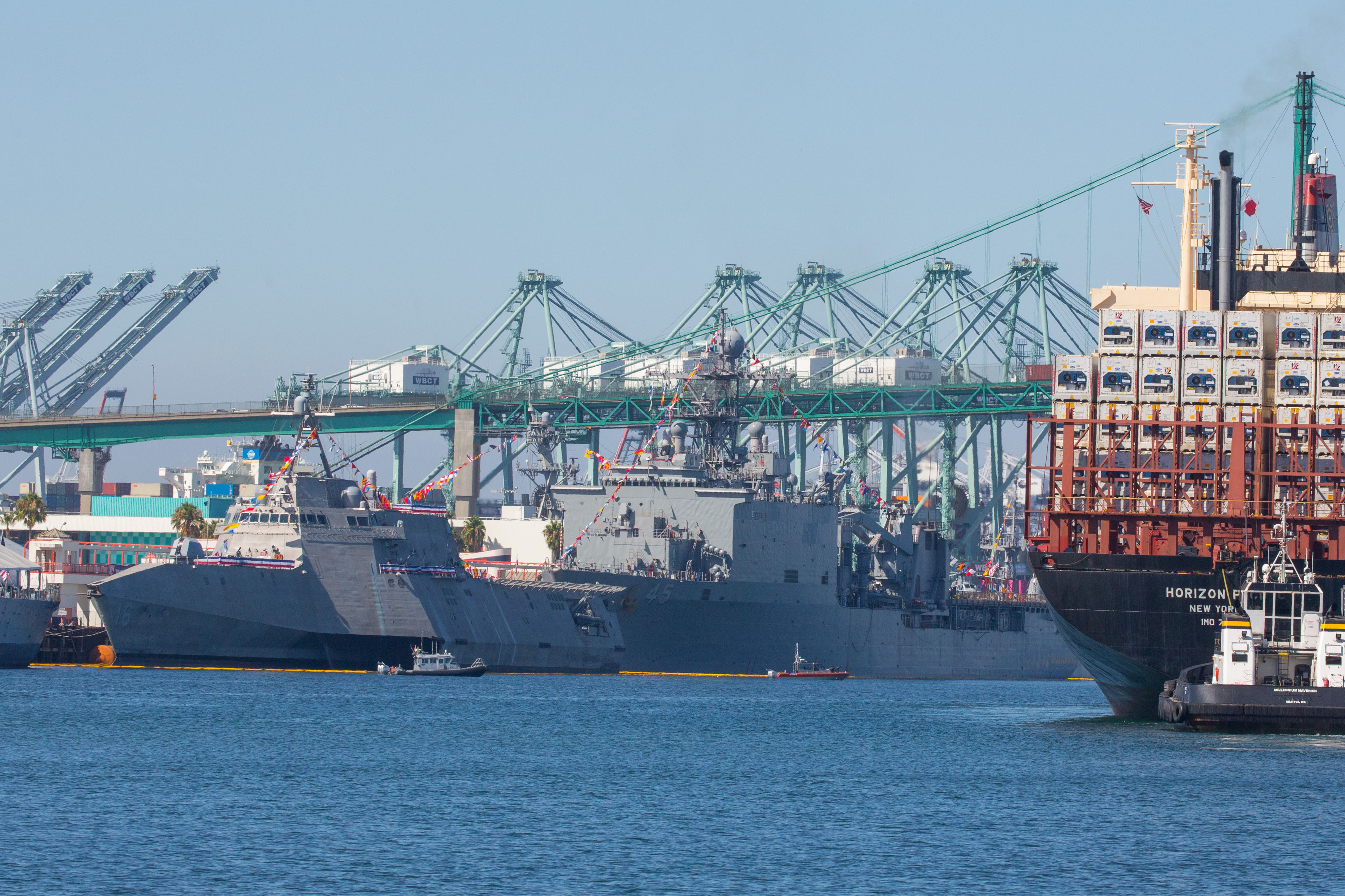Coronavirus regulations could affect work at Ports of LA and Long ...