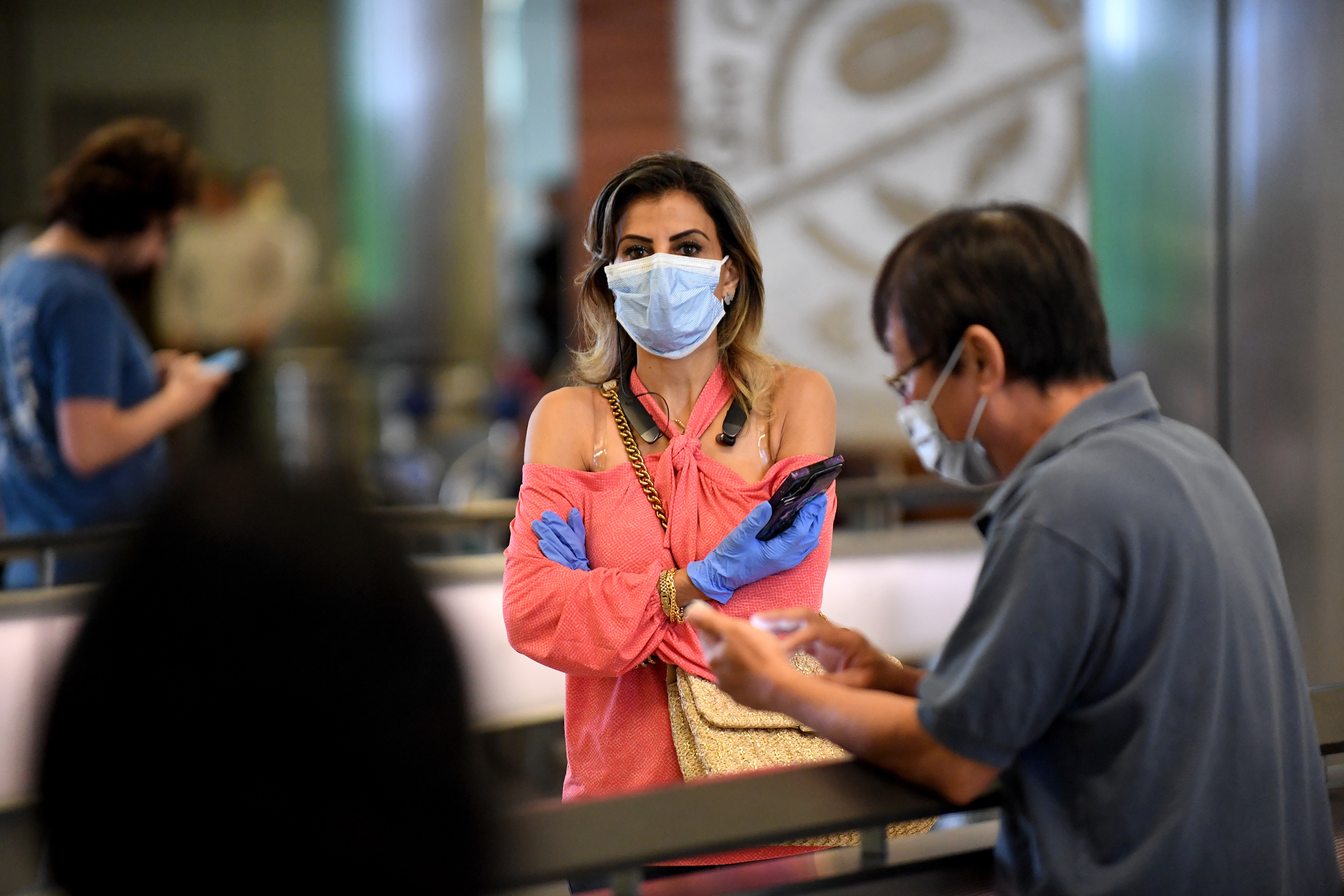 Medical professional at LAX tests positive for coronavirus, seven ...