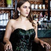 black dress to wedding