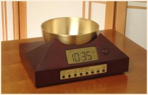 Zen Timepiece in Cherry