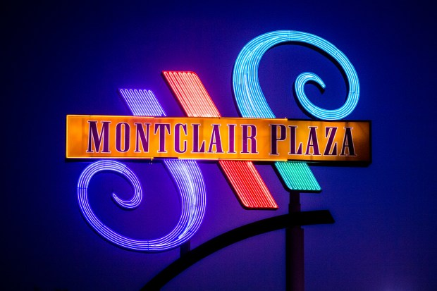 montclair plaza sign to