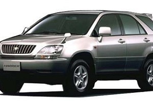 Toyota Harrier 1997 to 2003