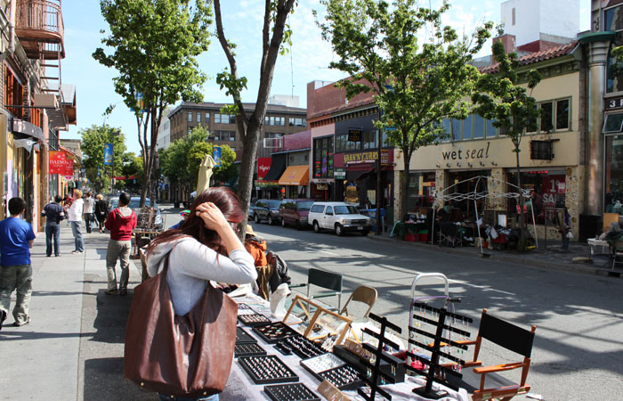 With regular police patrols, loitering on Telegraph has experienced a marked reduction, resulting in fewer public disturbances, according to business owner Al Geyer.